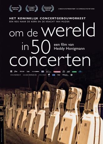 Om de Wereld in 50 Concerten poster