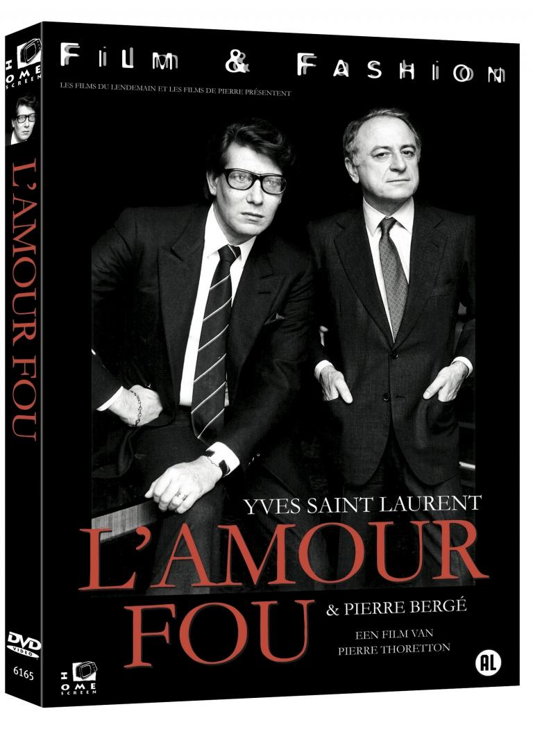 Yves Saint Laurent: L' Amour Fou cover