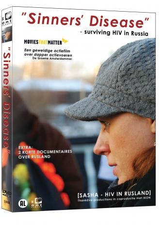 SINNERS' DISEASE  [Sasha - HIV in Rusland] cover